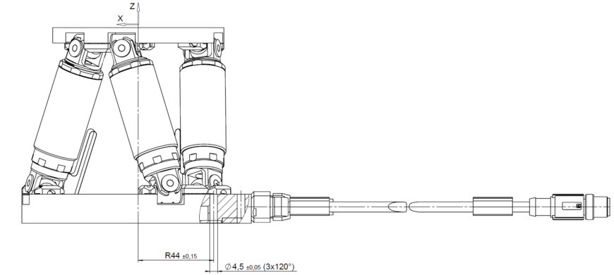 PI H-811.D2 Drawing