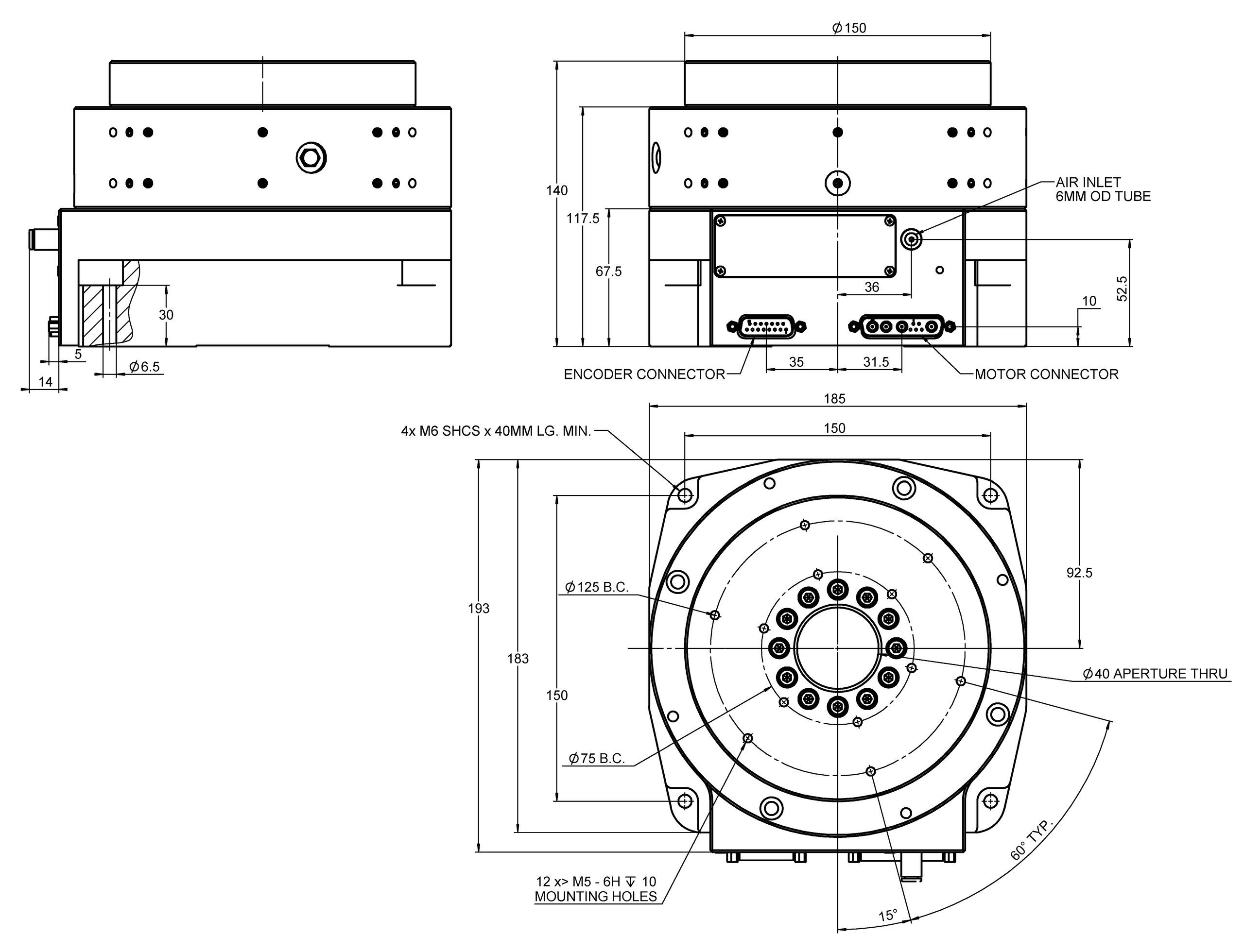 A 62x piglide rm rotation stage with air bearings for Job rotation program template