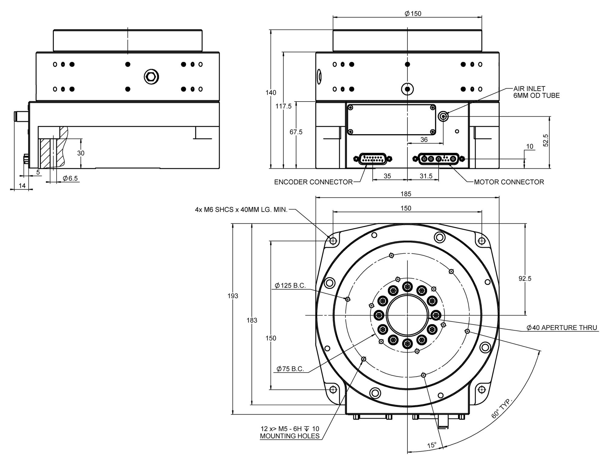 job rotation program template - a 62x piglide rm rotation stage with air bearings